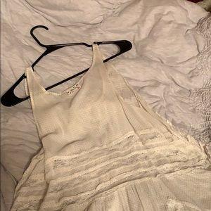 Free People Lace Trapeze Dress